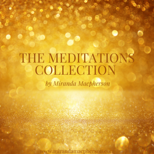 The Meditations Collection Miranda Macpherson downloadable guided meditations