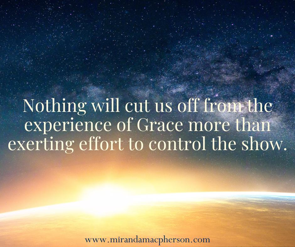 The practice of spiritual surrender by spiritual teacher Miranda Macpherson